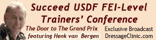 USDF Trainers Conference Henk van Bergen