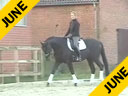 Leonie Bramall<br>Riding & Lecturing<br>Hanovarian<br>10 yrs. old Mare<br>Training: Prix St. George<br>Duration: 21 minutes