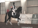 NEDA Fall Symposium<br> Steffen Peters<br> & Shannon Peters<br> Assisting<br> Suzanne Markham<br> Donnarlicht<br> Hanoverian<br> 10 yrs. old Gelding<br> Training: Grand Prix<br> Duration: 35 minutes