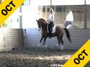 Ellen Bontje Assisting Rochelle Kilberg Rudy Hanoverian 8 yrs. old  Stallion Training: PSG/I-1 Level Owner: Rochelle Kilberg Duration: 36 minutes