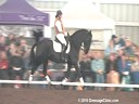 NEDA Fall Symposium<br> Shannon Peters<br> Assisting:<br> Jodi Pearson- Keating<br> Bauke<br> Friesian<br> 10 yrs. old<br> Training: 3rd/4th Level<br> Duration: 29 minutes