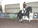 NEDA Fall Symposium<br> Steffen Peters<br> & Shannon Peters<br> Assisting<br> Jodi Pearson- Keating<br> Bauke<br> Friesian<br> 10 yrs. old<br> Training: 3rd/4th Level<br> Duration: 38 minutes