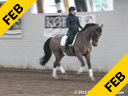 Day 1<br> Jan Brink<br> Assisting<br> Brooke Volbak<br> Ucristo<br> KWPN by: Monte Cristo<br> 10 yrs. old Gelding<br> Training: 3rd/4th Level<br> Owner: Chris Feves<br> Duration: 55 minutes