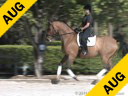 Shannon Dueck Riding & Lecturing Ayscha Oldenburg 8 yrs. old Mare Training: Intermediare 1/2 Owner: Shannon Dueck  Duration: 43 minutes