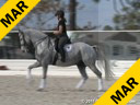 Jeremy Steinberg Assisting Taryn Briones Ghita Hanoverian 13 yrs. old Mare Training: I-1 Owner: Taryn Briones Duration: 35 minutes