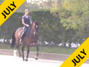 Shannon Dueck<br> Riding & Lecturing<br> Aysha<br> 15 yrs. Old Mare<br> Oldenburg<br> Training:  GP<br> Duration: 60 minutes
