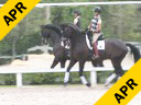 Steffen Peters<br> Assisting<br> Ilse Schwarz<br> Cadenza<br> Oldenburg<br> by: Contango<br> 13 yrs. old Gelding<br> Training: GP<br> Owner: Ilse Schwarz<br> Duration: 48 minutes