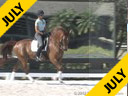 Hartwig Burfeind Riding & Lecturing Calimero M Hanoverian 5 yrs. old Gelding Training: 1st Level Owner: Pferde24 Duration: 25 minutes