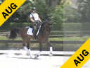 Betsy Steiner<br> Riding & Lecturing<br> Fino<br> Rhinelander<br> 12 yrs. old Gelding<br> Training: 1st/2nd Level<br> Duration: 34 minutes