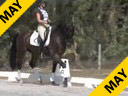 Shannon Dueck<br>Riding and Lecturing<br>San Claire<br>5 yrs. Old Oldenburg Gelding<br>Owner: Cetty Weiss<br>Training: 2nd Level<br>Duration: 36 minutes