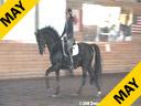 Leslie Reid<br> Assisting<br> Jess Havey<br> Rubinus<br> 8 yrs. old Stallion<br> Oldenburg<br> by:Rubinstein<br> Owner: Dream Scape Farm<br> Training: 3rd Level<br> Duration: 26 minutes