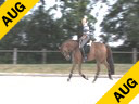 Leonie Bramall<br> Assisting<br> Pia Fortmuller<br> Orion<br> KWPN<br> by: Jazz<br> 14 yrs. old Gelding<br> Training:Grand Prix Level<br> Duration: 39 minutes