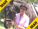 Jeanette Sassoon<br> Riding & Lecturing<br> With a Blind Horse<br> Valiant<br> KWPN<br> Gelding<br> Training: Prix St. George<br> Duration: 47 minutes