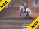 Day 2 Markus Gribbe Assisting Leslie Reid Kobal Andalusian 4 yrs. old Stallion Training: 1st Level Owner: Leslie Reid Duration: 32 minutes