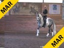 Day 3<br> Markus Gribbe<br> Assisting<br> Andreas Stano<br> Mystiques Manolete<br> Andalusian<br> 7 yrs. old Stallion<br> Training: 3rd Level<br> Owner: Dr. Anne Starr<br> Duration: 31 minutes
