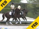 Kathy Connelly Assisting Ryan Yap Fortissimo Oldenburg by: Florestan 6 yrs. old Gelding Training: FEI 6 yrs.old Test Duration: 26 minutes