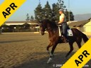 Charlotte Bredahl<br> Assisting<br> Cathy Pavlich<br> Osiris<br> KWPN<br> 9 yrs. old<br> Training: PSG<br> Duration:31 minutes